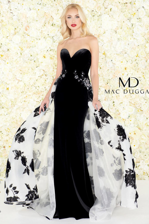 Mac Duggal 2097R - Mac Duggal Regular Size Dresses