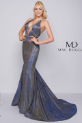 Mac Duggal 30603A - Mac Duggal Regular Size Dresses