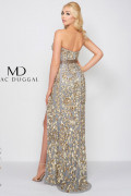 Mac Duggal 4691D - Mac Duggal Regular Size Dresses