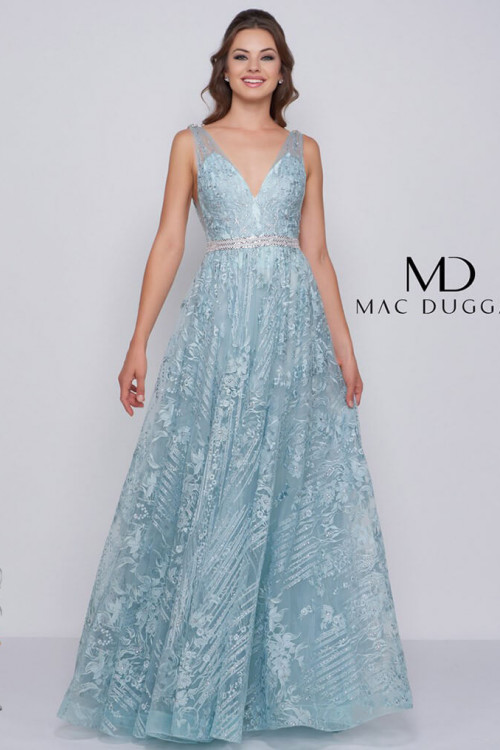 Mac Duggal 50543M - Mac Duggal Regular Size Dresses