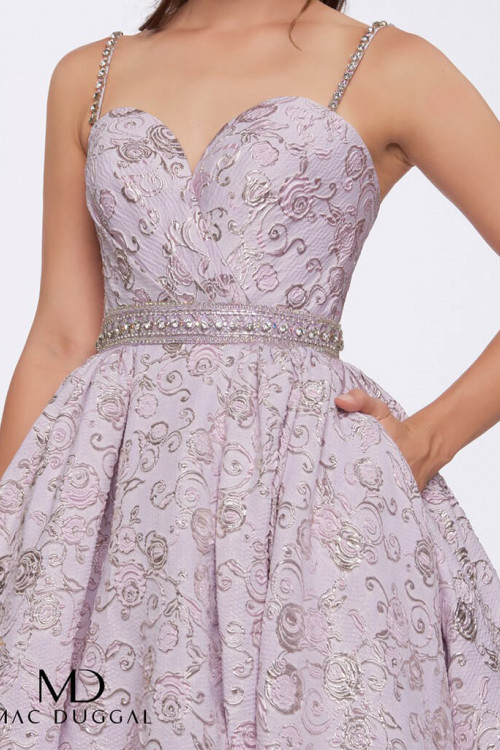 Mac Duggal 66715H - Mac Duggal Regular Size Dresses