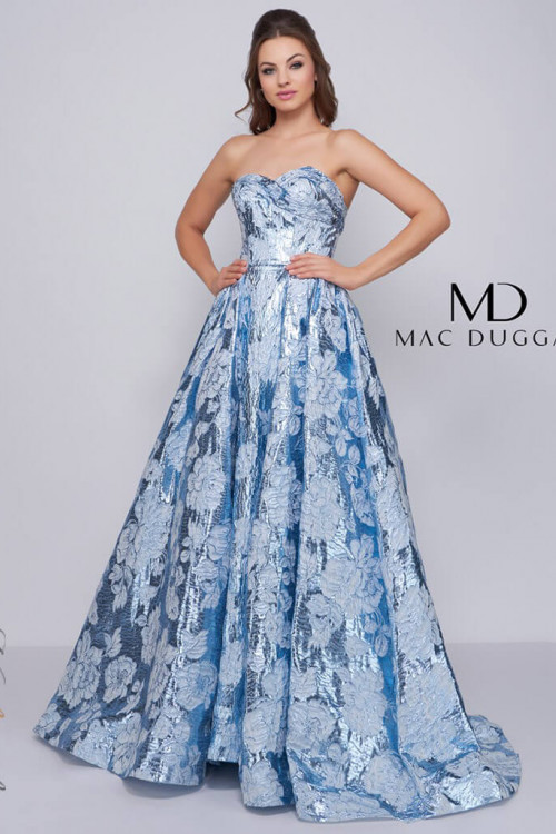 Mac Duggal 66947H - Mac Duggal Regular Size Dresses