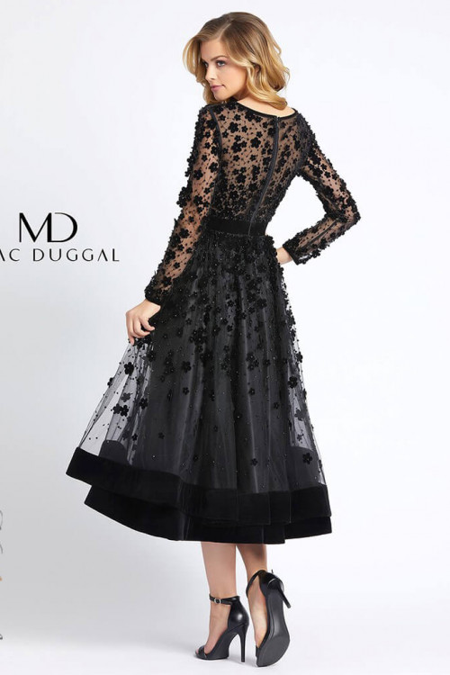 Mac Duggal 67007D - Mac Duggal Regular Size Dresses