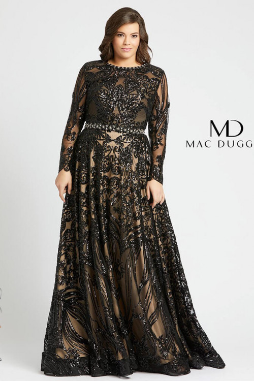 Mac Duggal 67148F - Plus Size Dresses