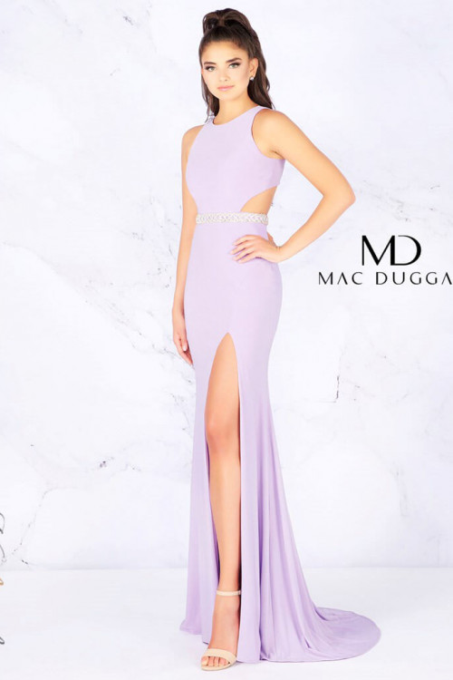 Mac Duggal 77614L - Mac Duggal Regular Size Dresses