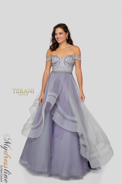 Terani Couture 1911P8501 - New Arrivals