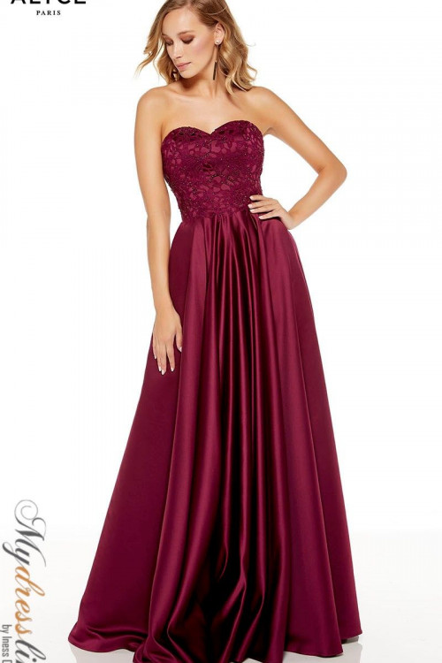 Alyce 1557 - Alyce Paris Long Dresses