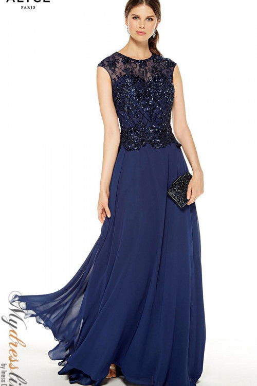 Alyce 27326 - Alyce Paris Long Dresses