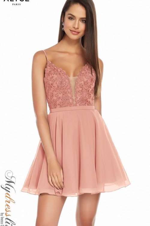 Alyce 3832 - Alyce Paris Short Dresses