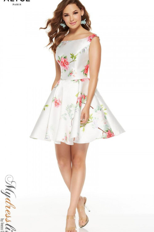 Alyce 3921 - Alyce Paris Short Dresses