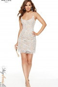 Alyce 4225 - Alyce Paris Short Dresses