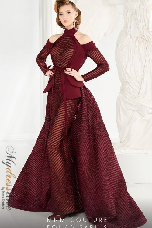 MNM Couture 2554 - MNM Couture Long Dresses