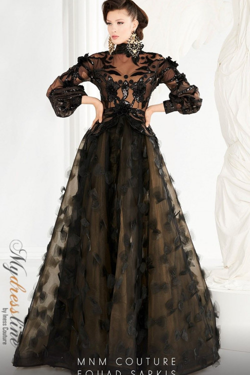 MNM Couture 2556 - MNM Couture Long Dresses