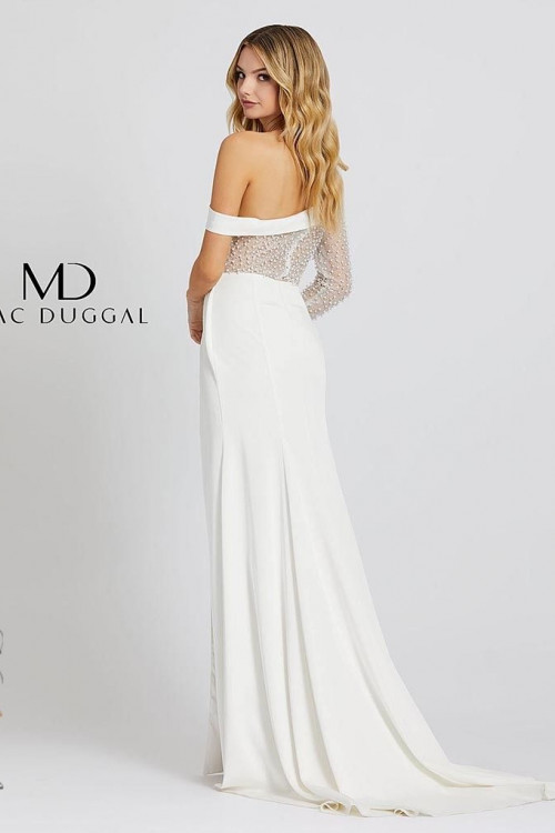 Mac Duggal 11126M - Mac Duggal Regular Size Dresses