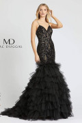 Mac Duggal 12291M - Mac Duggal Regular Size Dresses