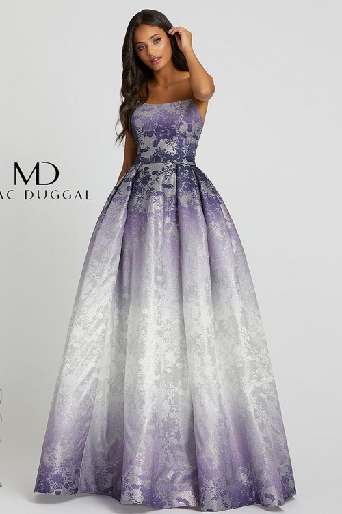 Mac Duggal 12310H - Mac Duggal Regular Size Dresses