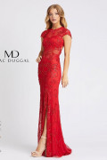 Mac Duggal 1903A - Mac Duggal Regular Size Dresses