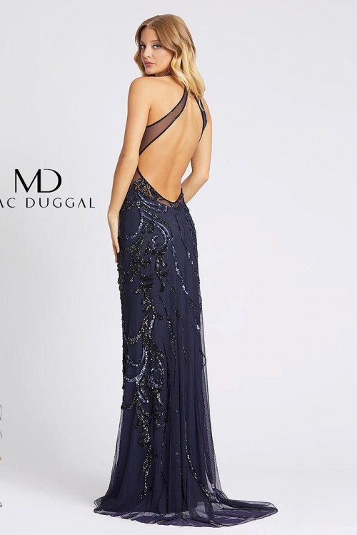 Mac Duggal 1922A - Mac Duggal Regular Size Dresses