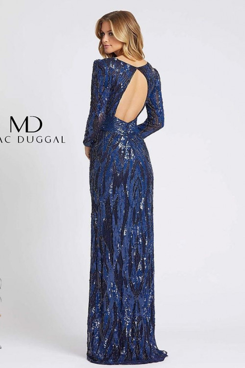 Mac Duggal 4635D - Mac Duggal Regular Size Dresses