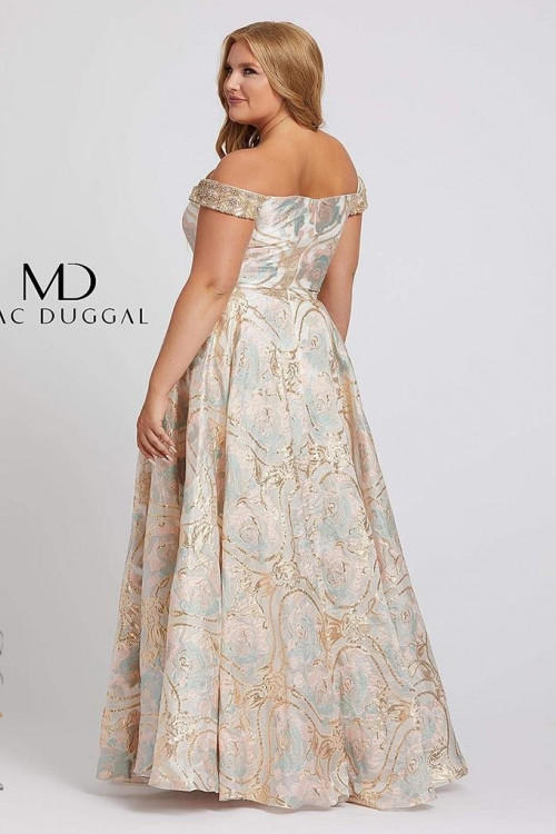 Mac Duggal 48983F - Plus Size Dresses