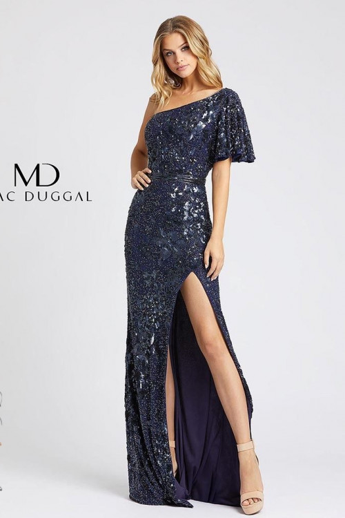 Mac Duggal 4986D - Mac Duggal Regular Size Dresses