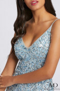 Mac Duggal 5015A - Mac Duggal Regular Size Dresses