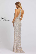 Mac Duggal 5078A - Mac Duggal Regular Size Dresses