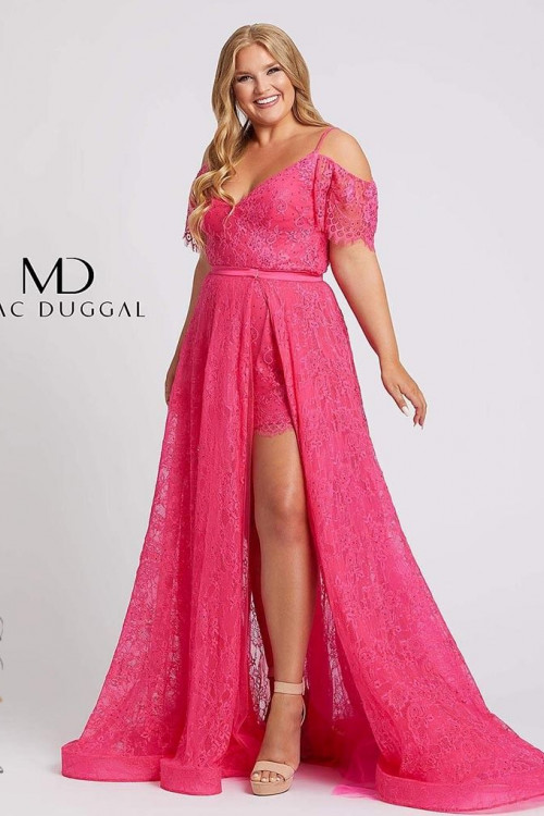 Mac Duggal 67220F - Plus Size Dresses
