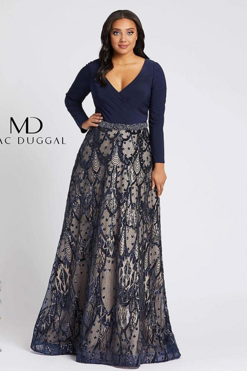 Mac Duggal 67241F - Plus Size Dresses