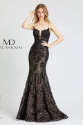 Mac Duggal 79252M - Mac Duggal Regular Size Dresses