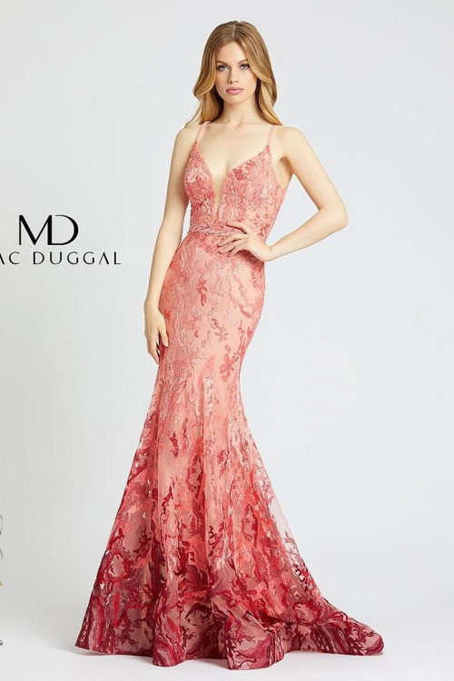 Mac Duggal 79288M - Mac Duggal Regular Size Dresses