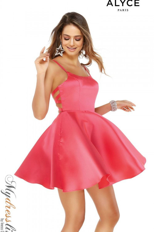 Alyce 3030 - Alyce Paris Short Dresses