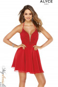 Alyce 3043 - Alyce Paris Short Dresses
