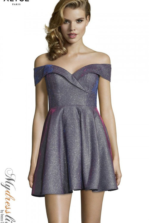 Alyce 4184 - Alyce Paris Short Dresses