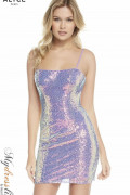 Alyce 4201 - Alyce Paris Short Dresses