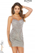 Alyce 4242 - Alyce Paris Short Dresses