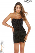 Alyce 4297 - Alyce Paris Short Dresses