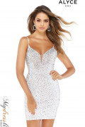 Alyce 4319 - Alyce Paris Short Dresses