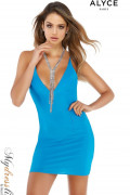 Alyce 4325 - Alyce Paris Short Dresses