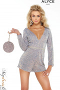 Alyce 4338 - Alyce Paris Short Dresses