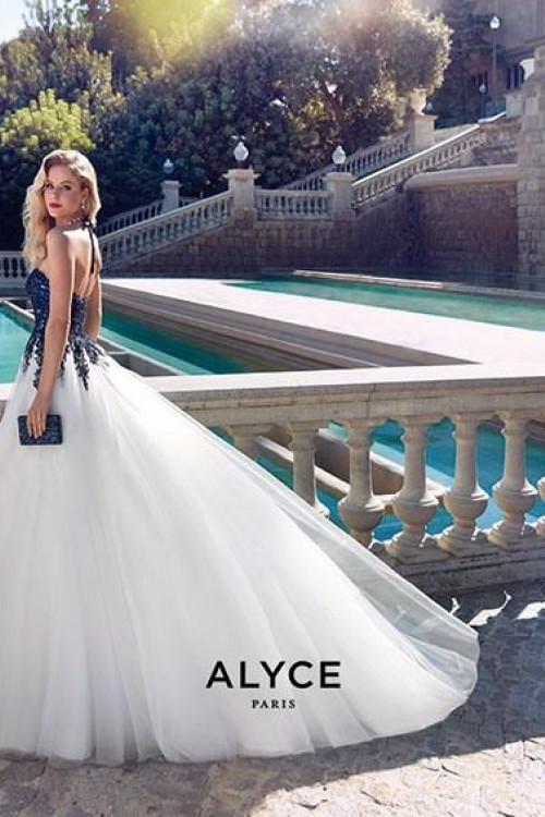 Alyce 60890 - Alyce Paris Long Dresses
