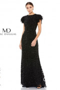 Mac Duggal 10748D - Mac Duggal Regular Size Dresses
