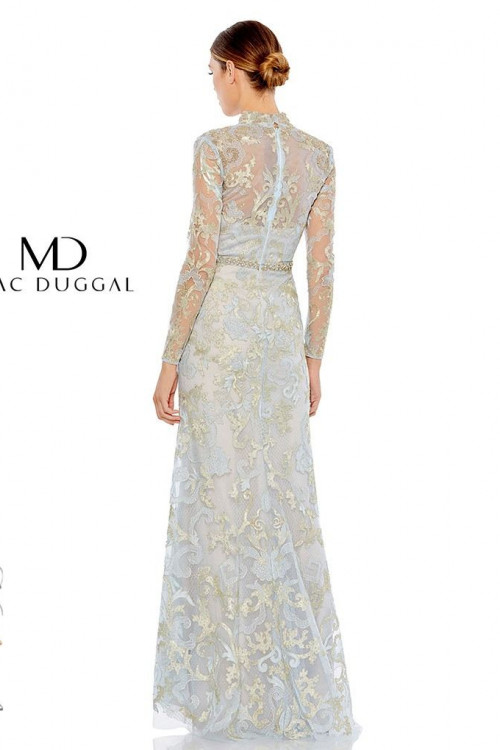 Mac Duggal 11165D - Mac Duggal Regular Size Dresses