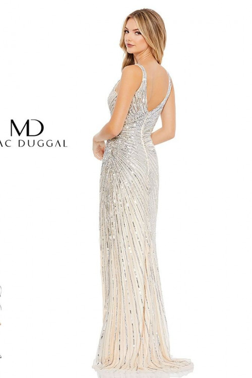 Mac Duggal 5372M - Mac Duggal Regular Size Dresses