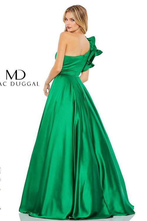 Mac Duggal 67582M - Mac Duggal Regular Size Dresses