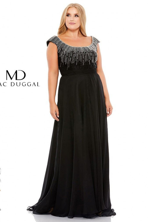 Mac Duggal 67735F - Plus Size Dresses