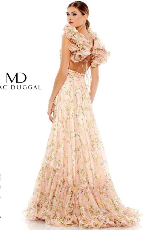Mac Duggal 67803M - Mac Duggal Regular Size Dresses