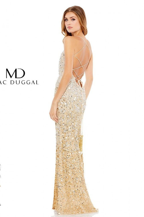 Mac Duggal 93553M - Mac Duggal Regular Size Dresses