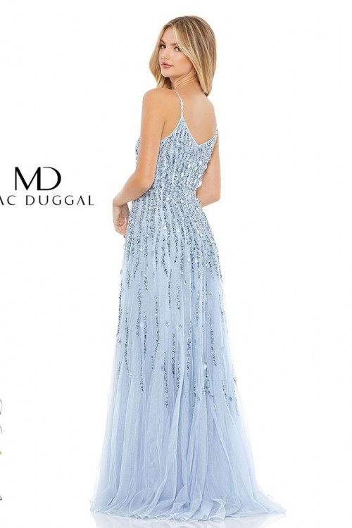 Mac Duggal 93566M - Mac Duggal Regular Size Dresses