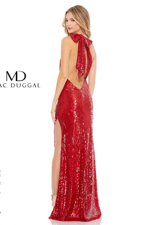 Mac Duggal 93580M - Mac Duggal Regular Size Dresses